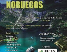 #64 untuk Poster  design for trips around Norway oleh vigs01