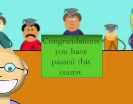 nº 7 pour Create an Animation for graduating an English course par muhammed82