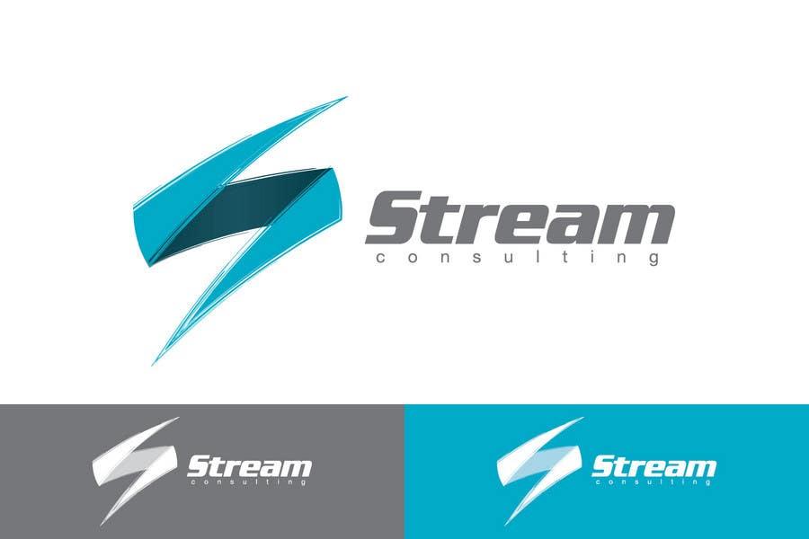Proposition n°                                        1                                      du concours                                         Logo Design for Stream