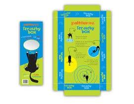 #3 para Create Print and Packaging Design-cat  scratcher box por vieghie