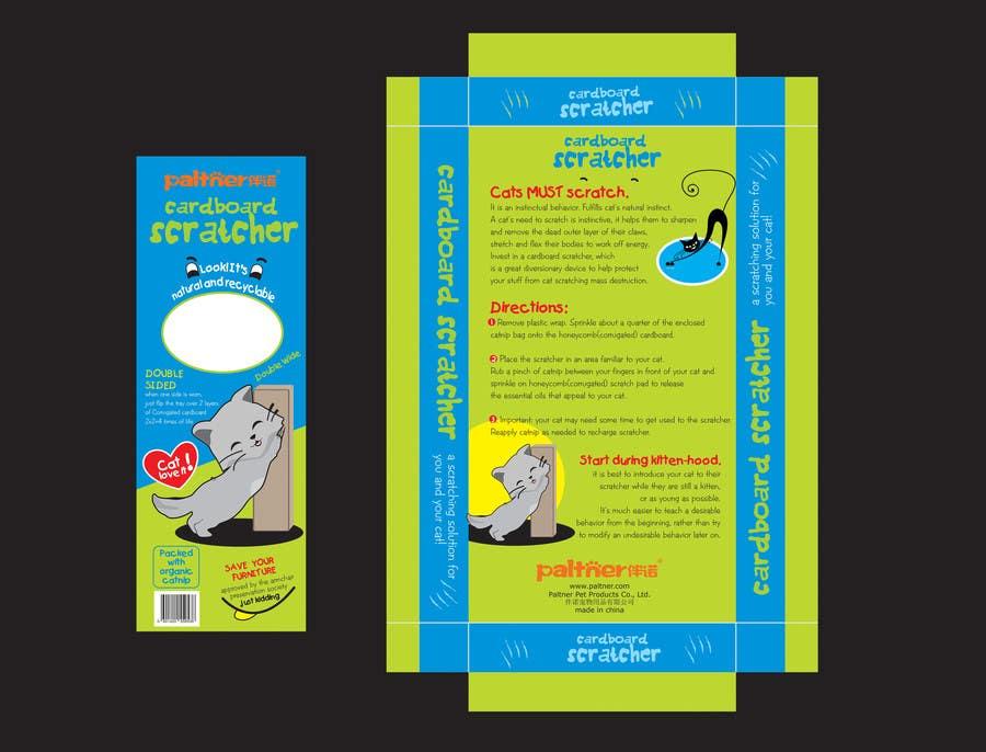 Inscrição nº 5 do Concurso para Create Print and Packaging Design-cat  scratcher box