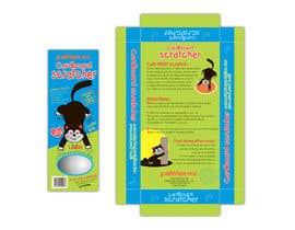 #17 para Create Print and Packaging Design-cat  scratcher box por vieghie