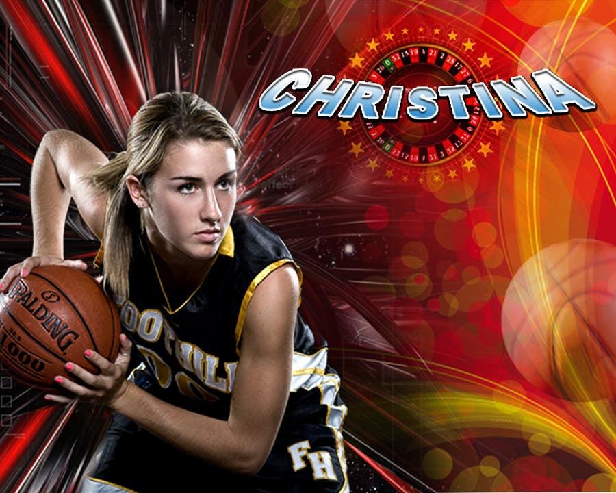 Inscrição nº                                         44                                      do Concurso para                                         Digital background designer for sports posters.
