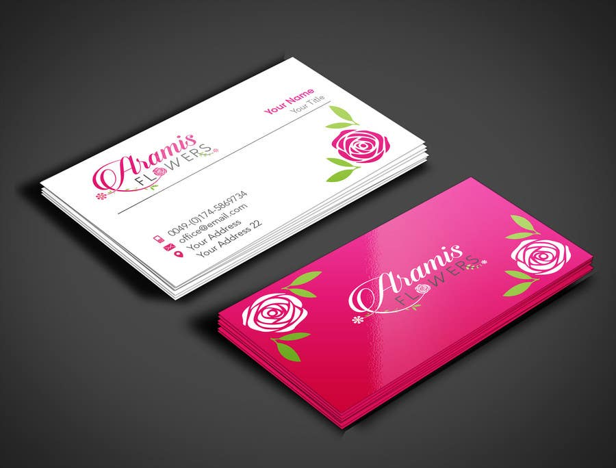 Entry #49 by angelacini for Design some Business Cards for flower ...
