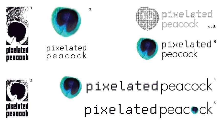 Inscrição nº 31 do Concurso para Design a logo/logotype for pixelated peacock