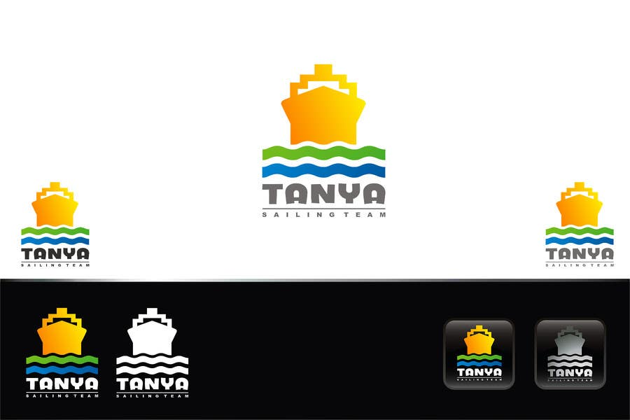 Proposition n°438 du concours Logo for sailing team