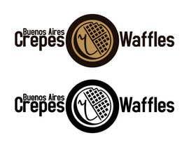 Nro 31 kilpailuun Diseñar un logotipo para Buenos Aires Crepes Y Waffles käyttäjältä duvanotti