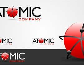 #139 para Design a Logo for The Atomic Series of Sites por trying2w