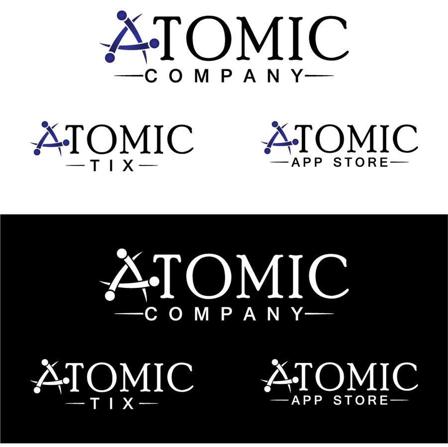Inscrição nº 39 do Concurso para Design a Logo for The Atomic Series of Sites