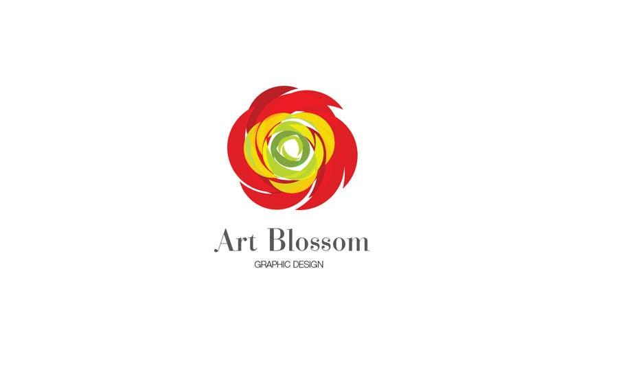 Logo for Russian graphic design company Art-blossom. için 230 numaralı Yarışma Girdisi