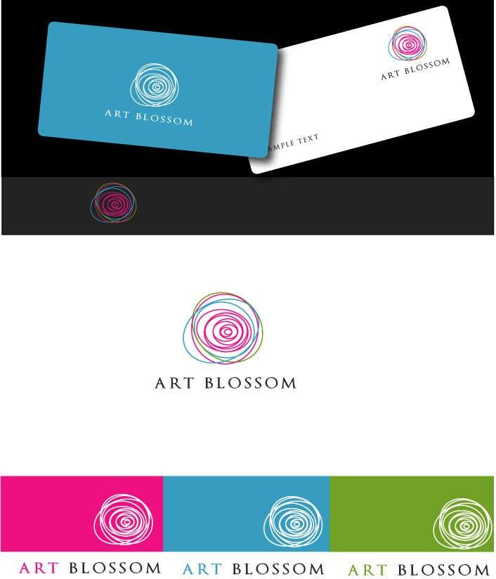 Logo for Russian graphic design company Art-blossom. için 247 numaralı Yarışma Girdisi