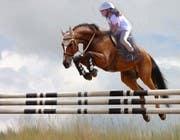 Bài tham dự #13 về Photoshop cho cuộc thi Horse jump photoshop