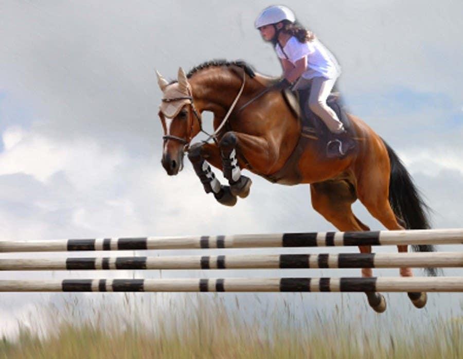 Bài tham dự cuộc thi #                                        13                                      cho                                         Horse jump photoshop