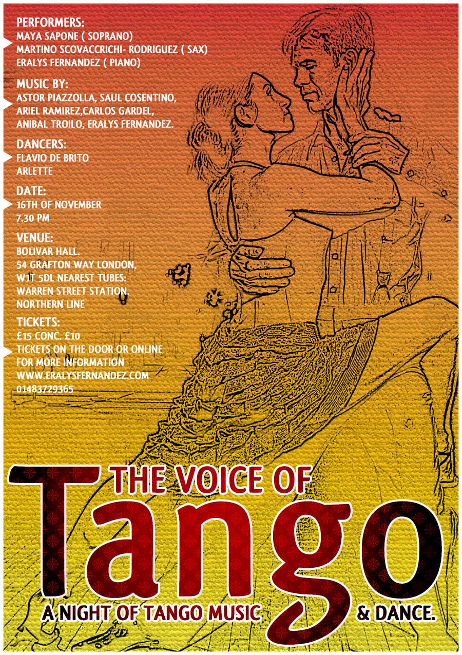 Contest Entry #17 for The Voice of Tango