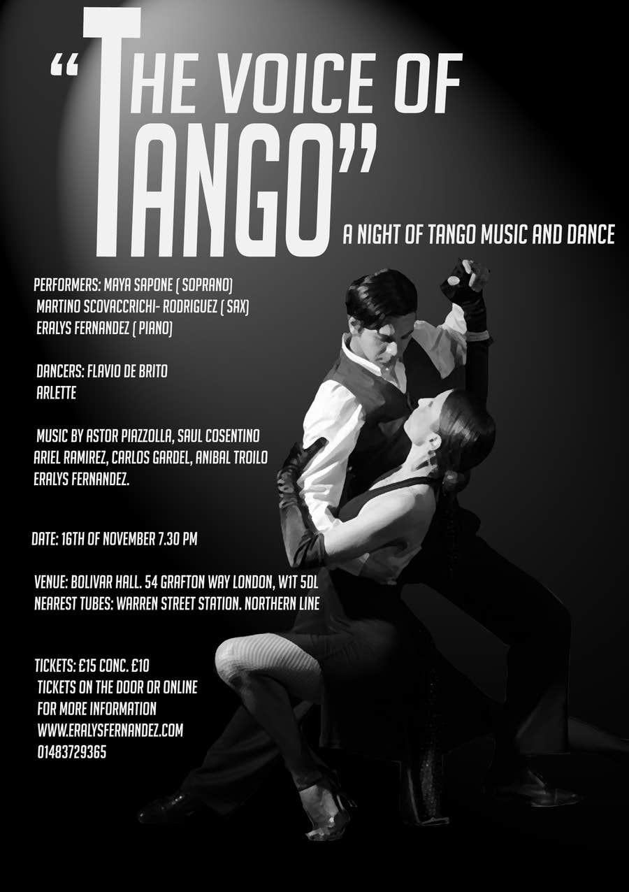 Contest Entry #21 for The Voice of Tango