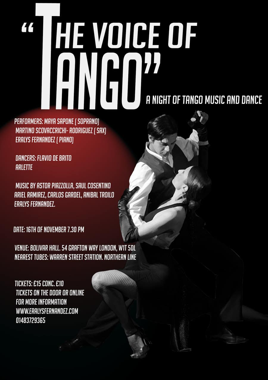 #22 for The Voice of Tango by nafets89