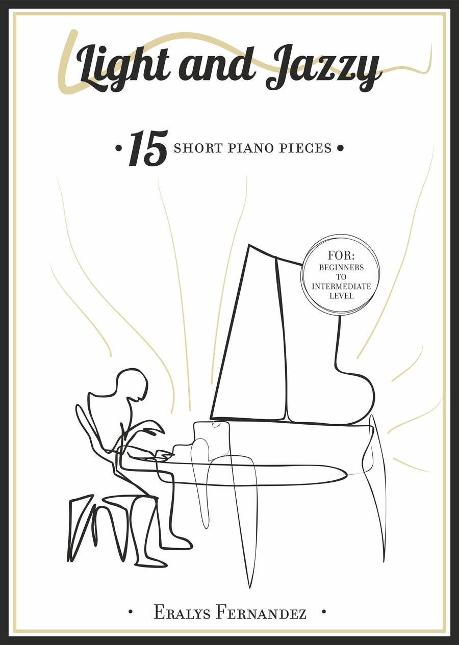 #22 for Cover for Piano Music Book by STUDIO510