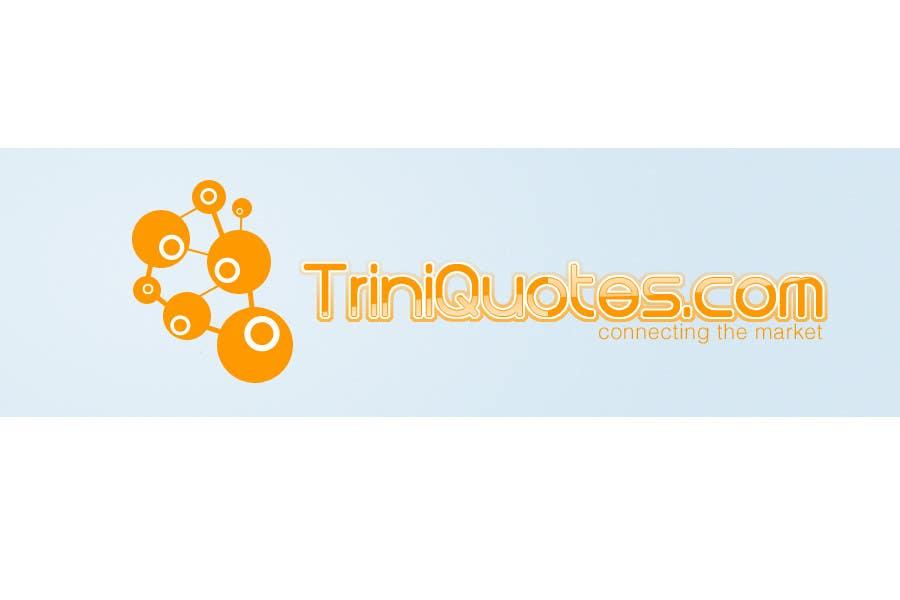 Contest Entry #145 for Logo Design for TriniQuotes.com