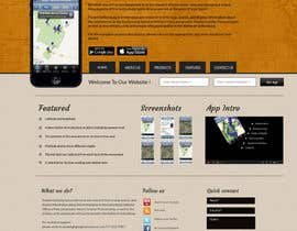 nº 5 pour Simple web site for smartphone app par a1CosmicDesign