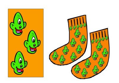 #8 for I need some Graphic Design for sock design by ELNADEJAGER