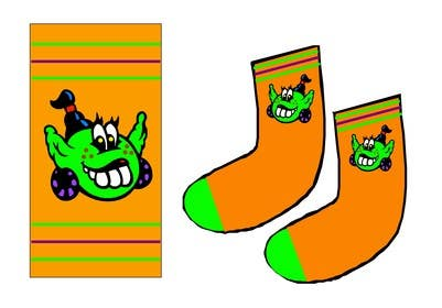 #10 for I need some Graphic Design for sock design by ELNADEJAGER