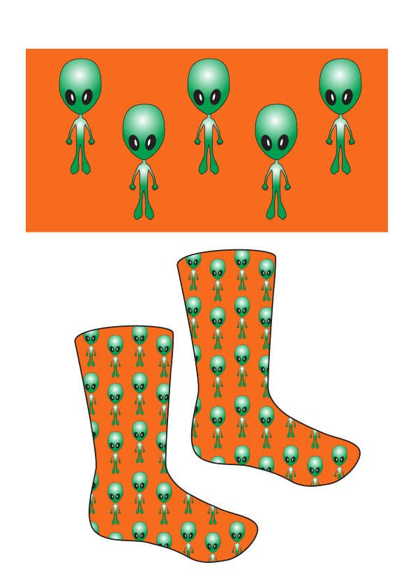 #3 for I need some Graphic Design for sock design by JosephMarinas
