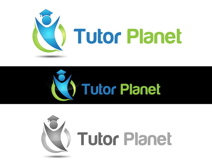 "Penyertaan Peraduan #107 untuk Design a Logo for a business for the word ""Tutor Planet"""