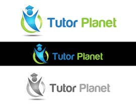 "#107 untuk Design a Logo for a business for the word ""Tutor Planet"" oleh bestidea1"