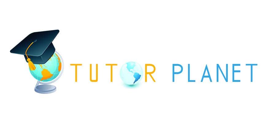 """Penyertaan Peraduan #23 untuk Design a Logo for a business for the word """"Tutor Planet"""""""