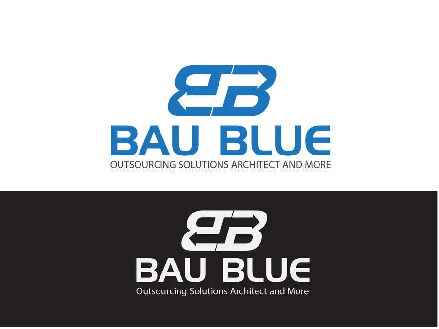 Entry #52 by ansarlancer for Design a Blue Logo | Freelancer