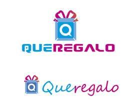 #38 para Diseñar un logotipo tienda en linea de experiencias / logo design for eshop name queregalo (whatagift) de DesignsMR