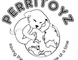 #45 for perritoyz logo by ckillustrations