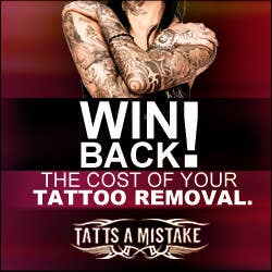 Entry #25 by SneR85 for Design a banner for Tattoo Removal ...
