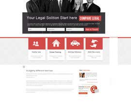 nº 8 pour Home page design plus logo - legal site par Soniyakumar