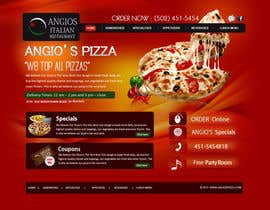 nº 34 pour PSD for an Italian pizza restaurant web site. par MagicalDesigner