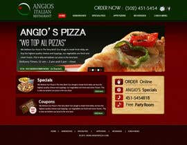 nº 35 pour PSD for an Italian pizza restaurant web site. par MagicalDesigner
