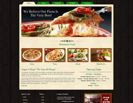 nº 21 pour PSD for an Italian pizza restaurant web site. par nitinatom
