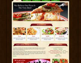#30 for PSD for an Italian pizza restaurant web site. af nitinatom