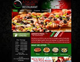 #28 para PSD for an Italian pizza restaurant web site. por hafizawais456