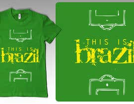 nº 1 pour Brazilian Themes T-Shirt Design Project par naef