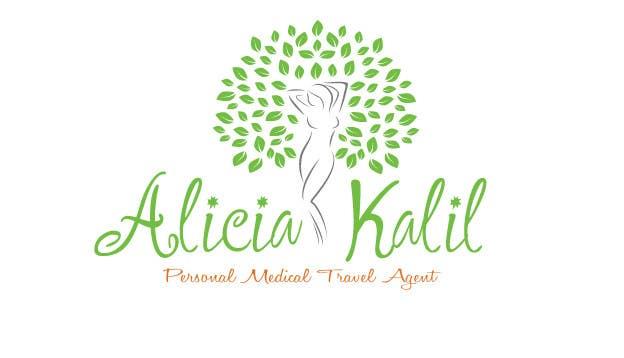 """Inscrição nº 24 do Concurso para Design a Name & Logo using """"Alicia Kalil - Your Personal Medical Travel Agent"""