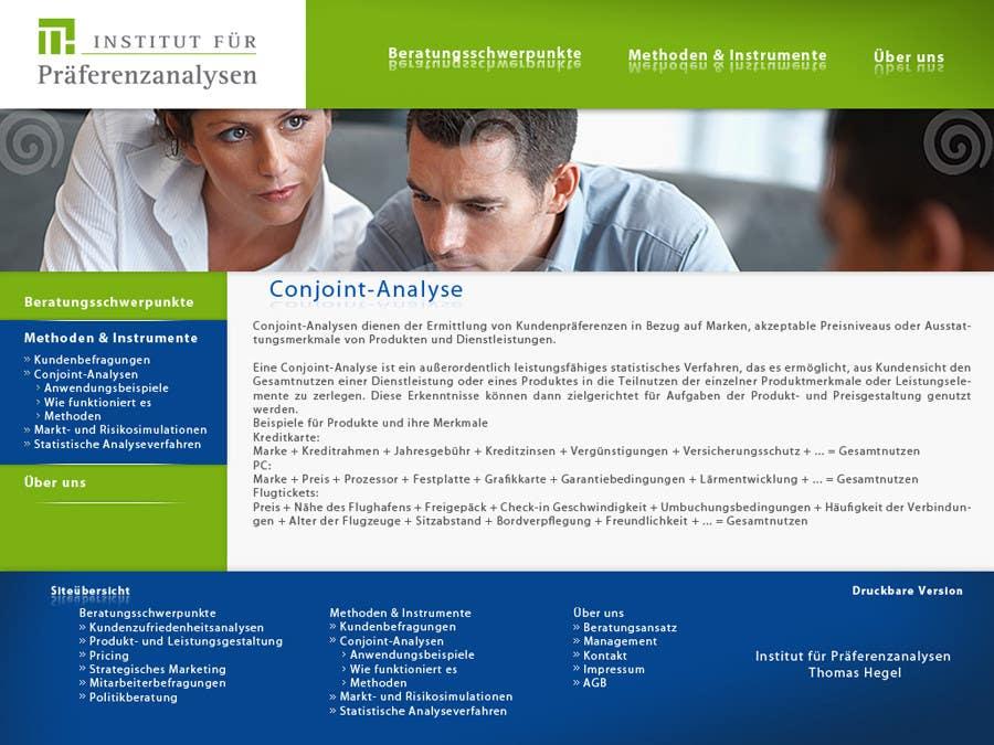 Kilpailutyö #106 kilpailussa Website Design for small marketing consulting company