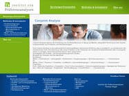 Graphic Design Kilpailutyö #113 kilpailuun Website Design for small marketing consulting company