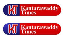 nº 26 pour Design a Logo for Kantarawaddy Times par NabilEdwards