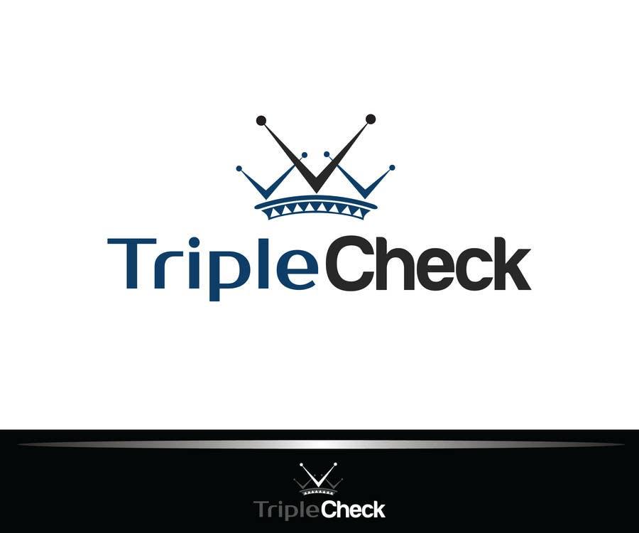 Kilpailutyö #19 kilpailussa Triplecheck logo and stamp