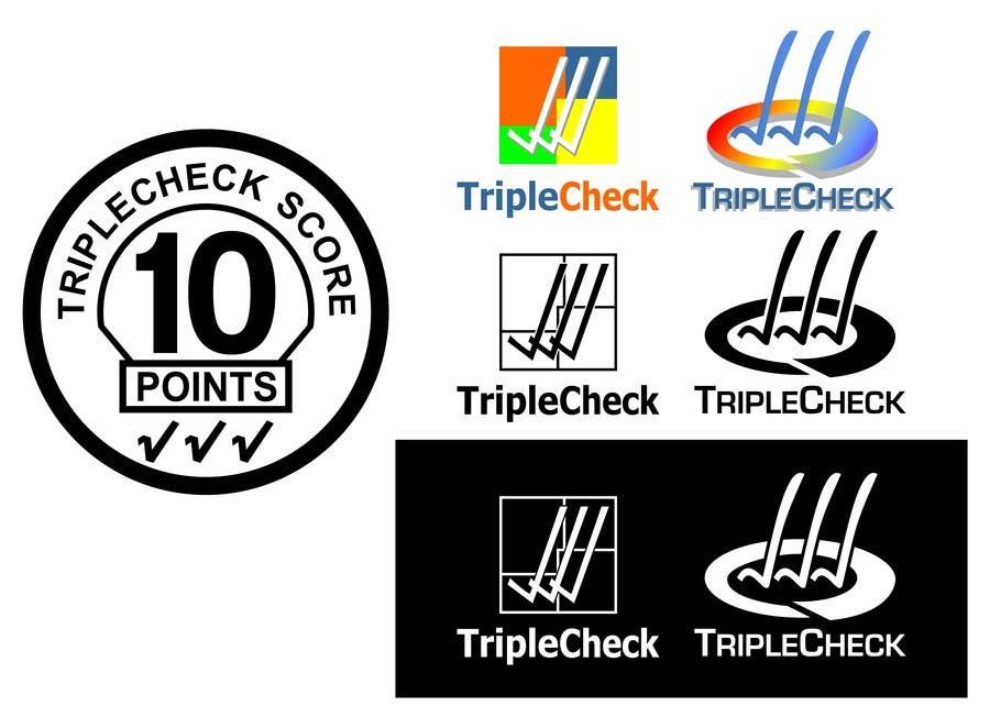 Konkurrenceindlæg #14 for Triplecheck logo and stamp