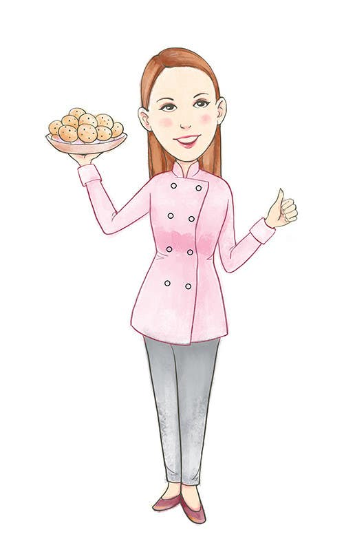 Konkurrenceindlæg #                                        31                                      for                                         Caricature of my wife for cookies