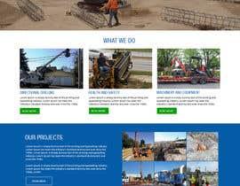 #44 für Design a Website for Underground Directional Boring company von amitesh123