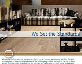 #102 for Design an Advertisement for Acoustic Floor Solutions af marisjoe