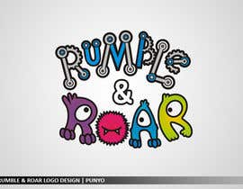 nº 18 pour Design a Logo for Rumble and Roar par punyo